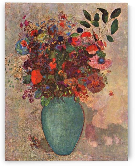 Turkish Vase by Odilon Redon by Odilon Redon