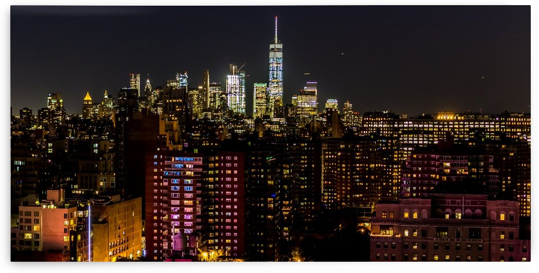 New York Night by Per-Anders Gunnarsson