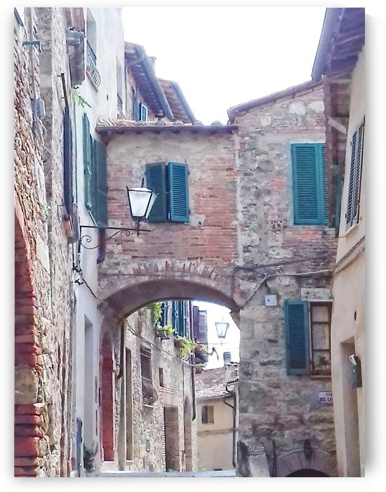 Alleyway Cetona Tuscany by Dorothy Berry-Lound