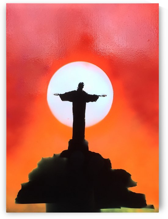 the redemption christ of corcovado by behzad masoumi