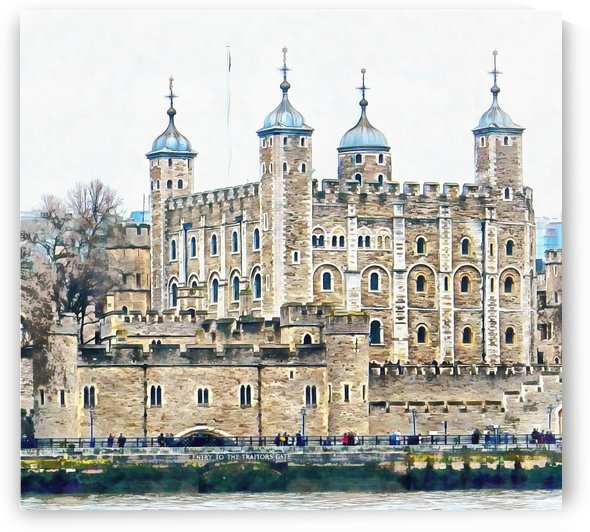 Tower of London 2 by Dorothy Berry-Lound