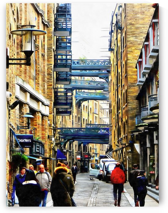 Shad Thames Street View by Dorothy Berry-Lound