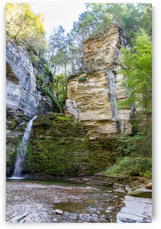 Eagle Cliff Falls 15 by William Norton Photography