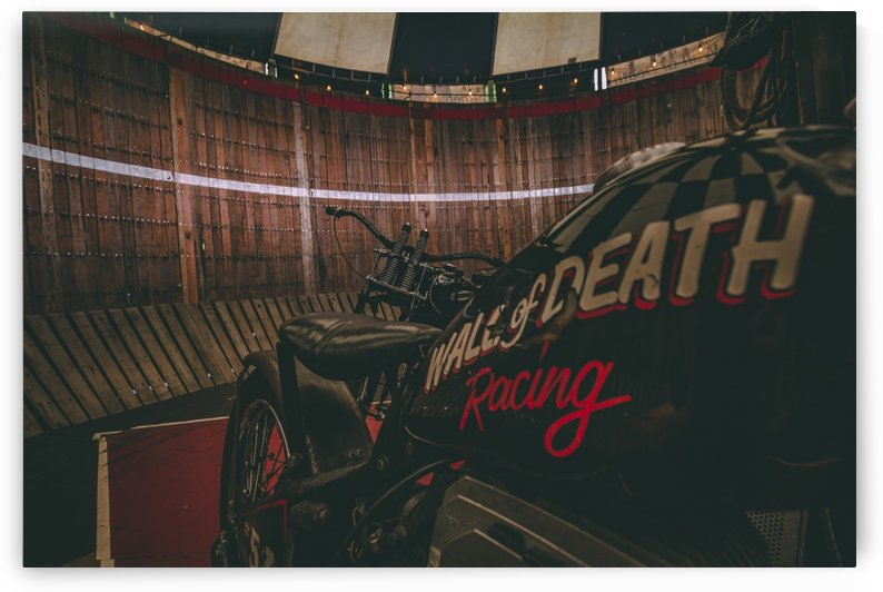 Wall of death Harley Davidson by  Shawn Connors Designs