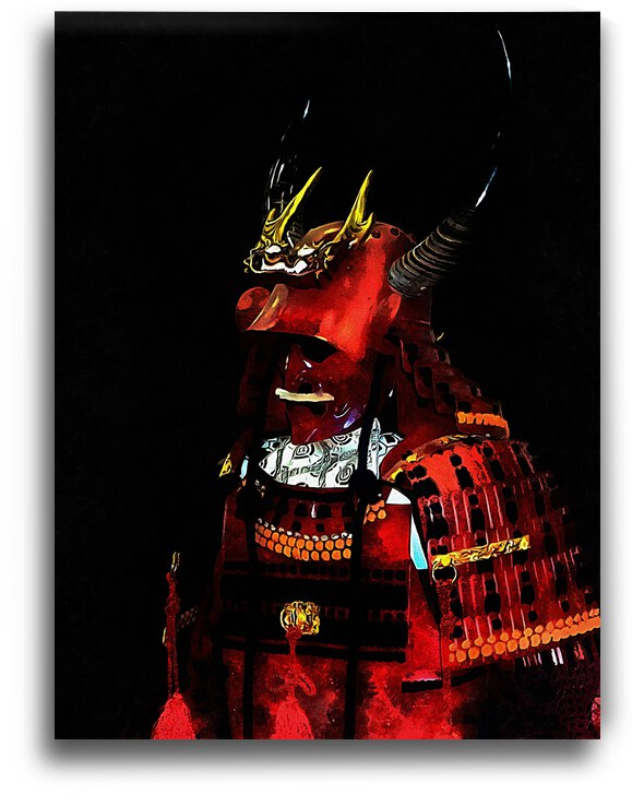 Memories of Samurai 3 by Dorothy Berry-Lound