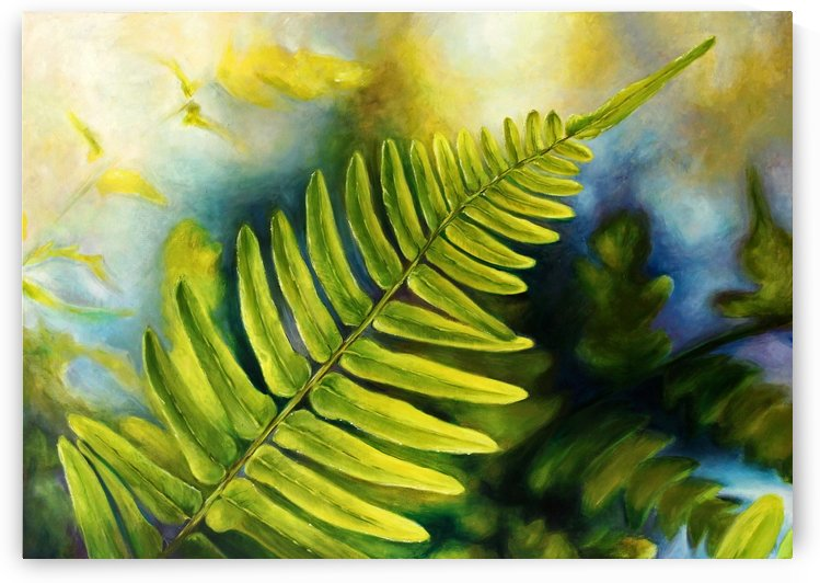 Fern Night by Ineta Petersone