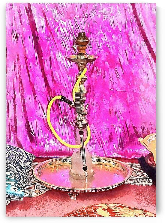 Exotic Oriental Hookah Pipe 1 by Dorothy Berry-Lound