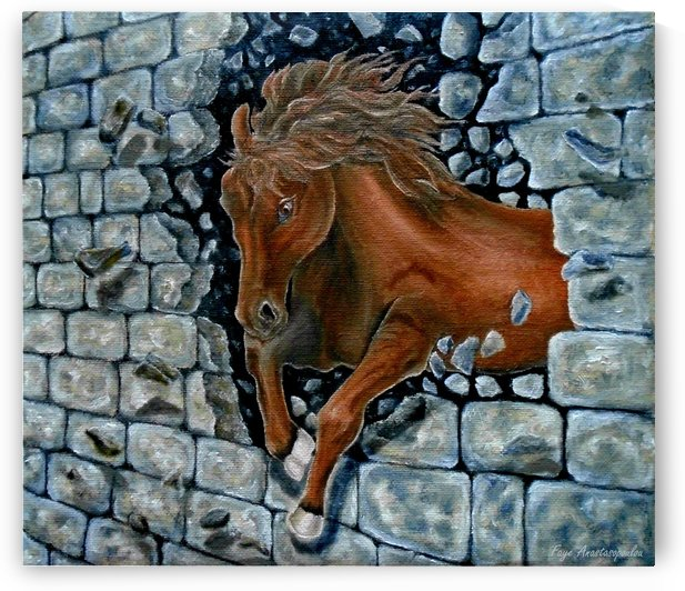 Through The Wall by Faye Anastasopoulou