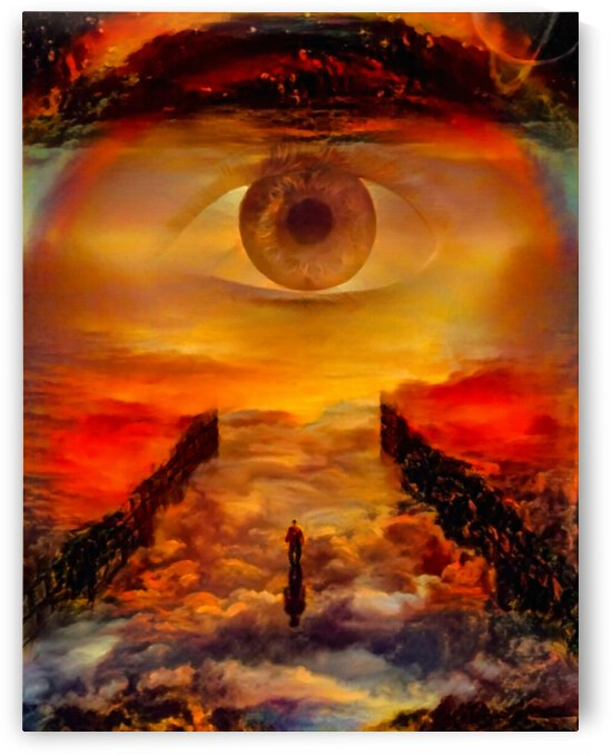 The Eye of God by Bruce Rolff