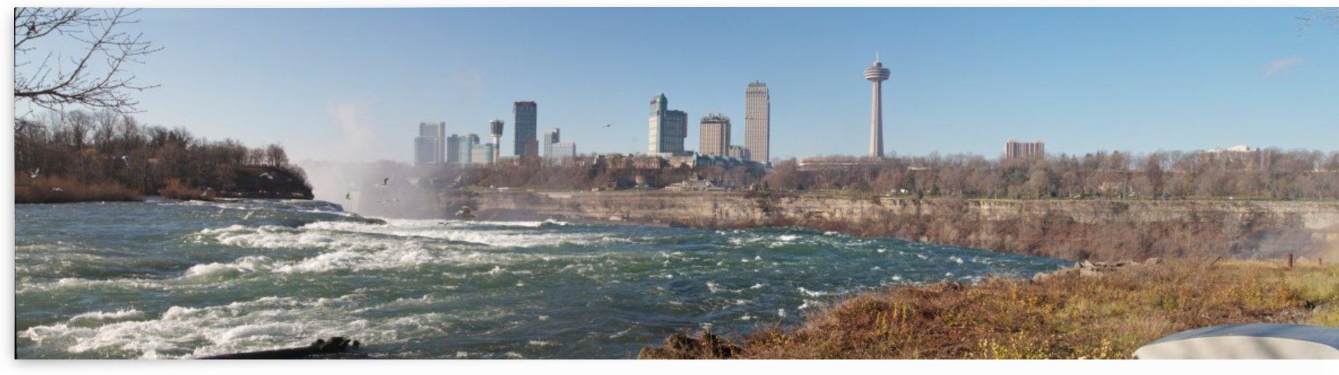 Top of Niagara Falls  by William Norton Photography