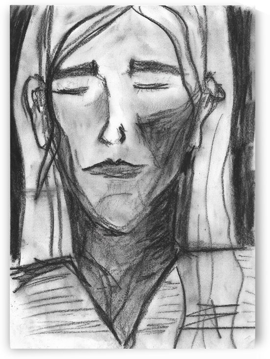 Charcoal Girl by EF Kelly