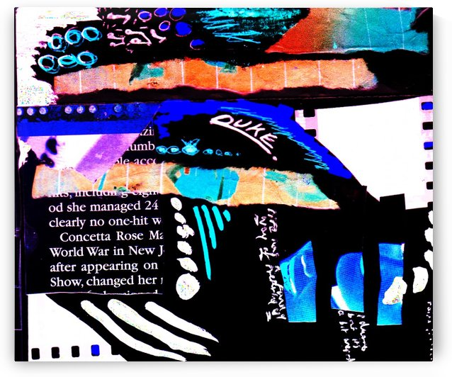 JAZZ BLUE  by C J M Blundell