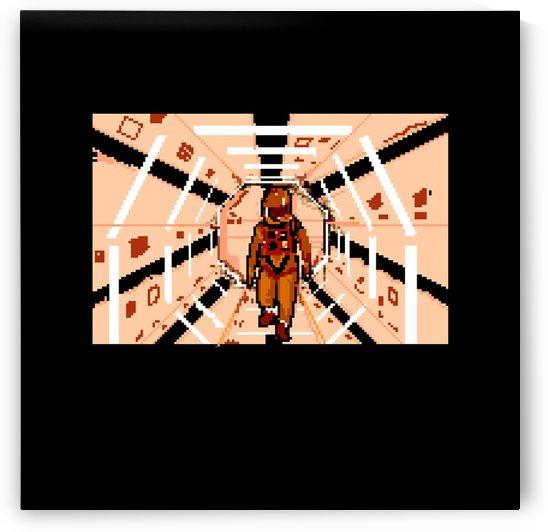 2001: A SPACE ODYSSEY PIXEL ART  by C J M Blundell