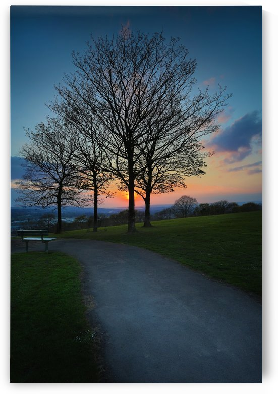 Sunset at Ravenhill park by Leighton Collins
