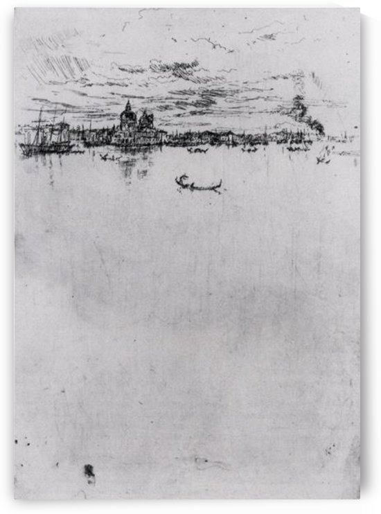 Upright Venice by Whistler by Whistler