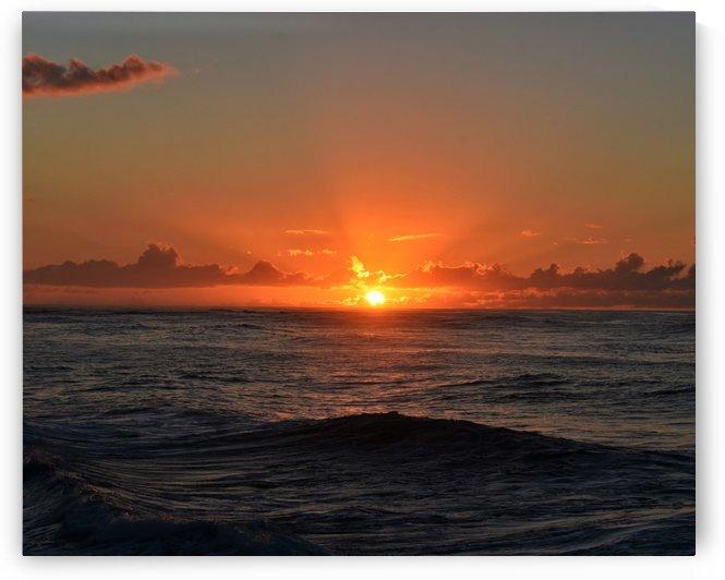 Turtle Bay Sunset by Eric Schmitz