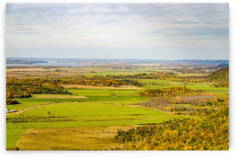 View of Ottawa Valley in Autumn 19 by Bob Corson