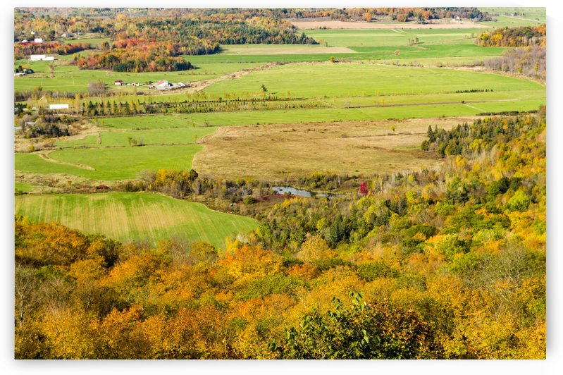 View of Ottawa Valley in Autumn 16 by Bob Corson