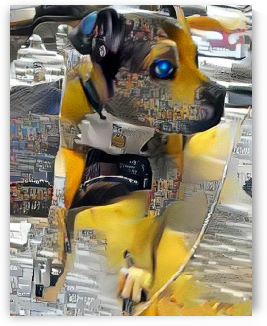 Robot Dog by NganHongTruong