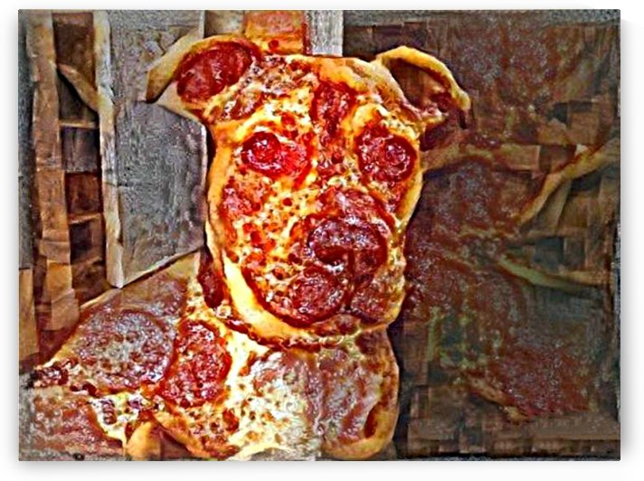 Pizza Dog by NganHongTruong