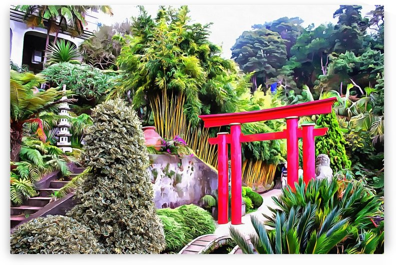 Oriental Gardens Madeira 2 by Dorothy Berry-Lound