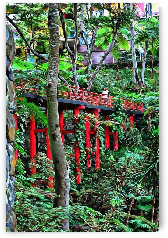 Oriental Garden Madeira 3 by Dorothy Berry-Lound