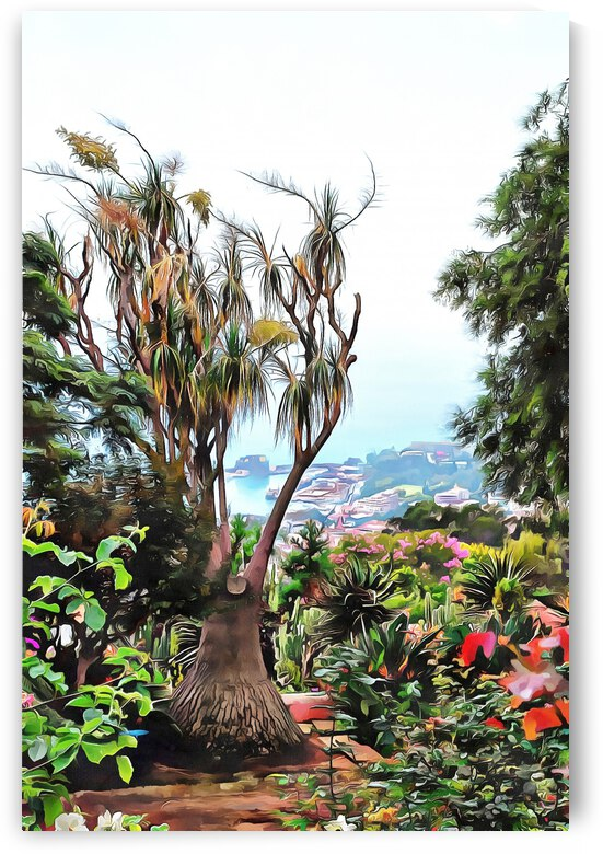 Botanic Garden View by Dorothy Berry-Lound