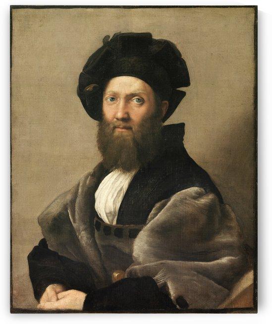 Baldassare Castiglione by Raphael