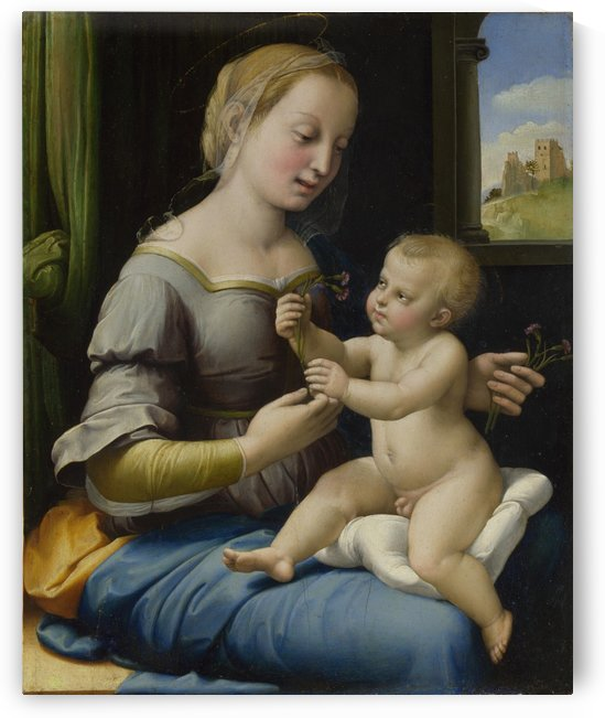 The Madonna of the Pinks by Raphael