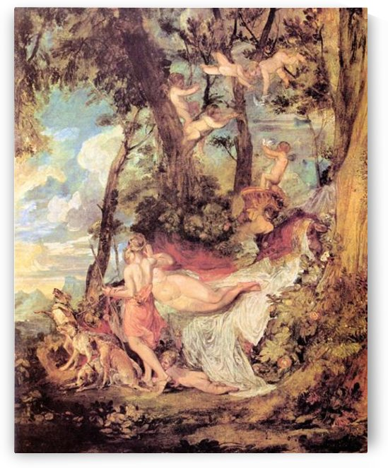Venus and Adonis by Joseph Mallord Turner by Joseph Mallord Turner