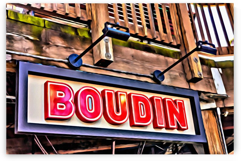 Boudin Bakery Sign by Darryl Brooks