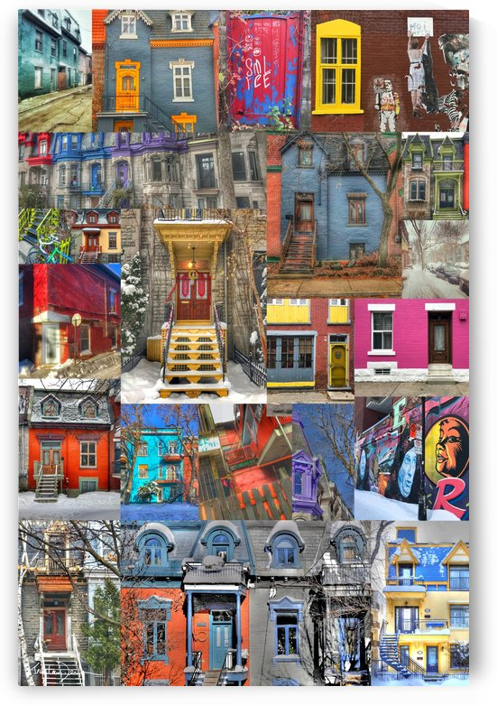 Plateau Mont-Royal Montreal by Jean-Louis Desrosiers