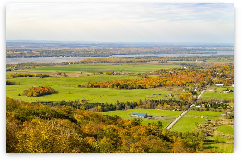 View of Ottawa Valley in Autumn17 by Bob Corson