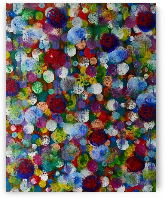 Balloons Galore_Abstract by Julie Hollis