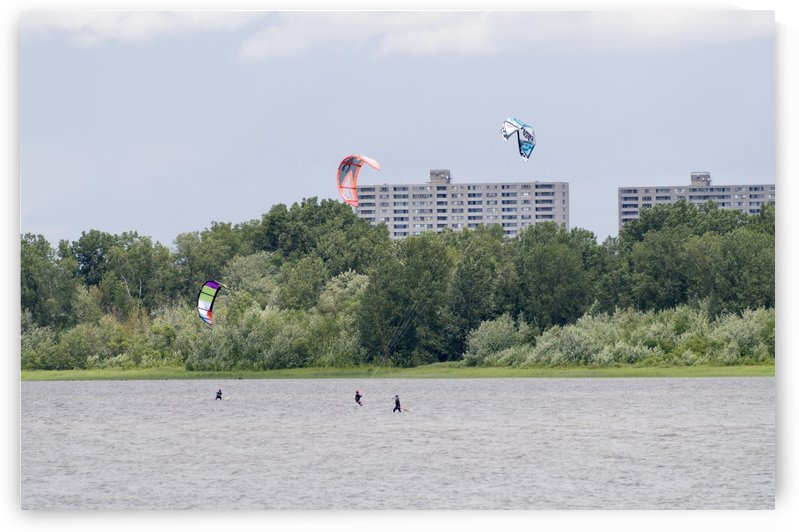 Parasailing on the Ottawa River 8 by Bob Corson