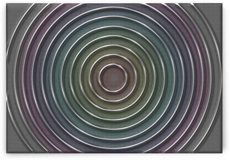 metal lines on colorful weaves background by CiddiBiri