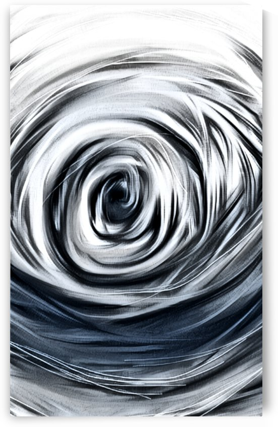 Moody Blue Hole by Mary Crook