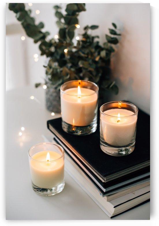 Three candles by Daria Minaeva