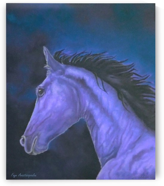 White Knight by Faye Anastasopoulou