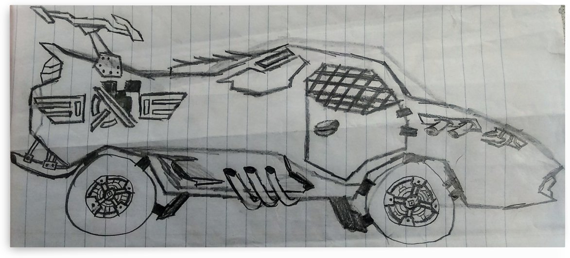 Off Road Super Car by Breakcreate