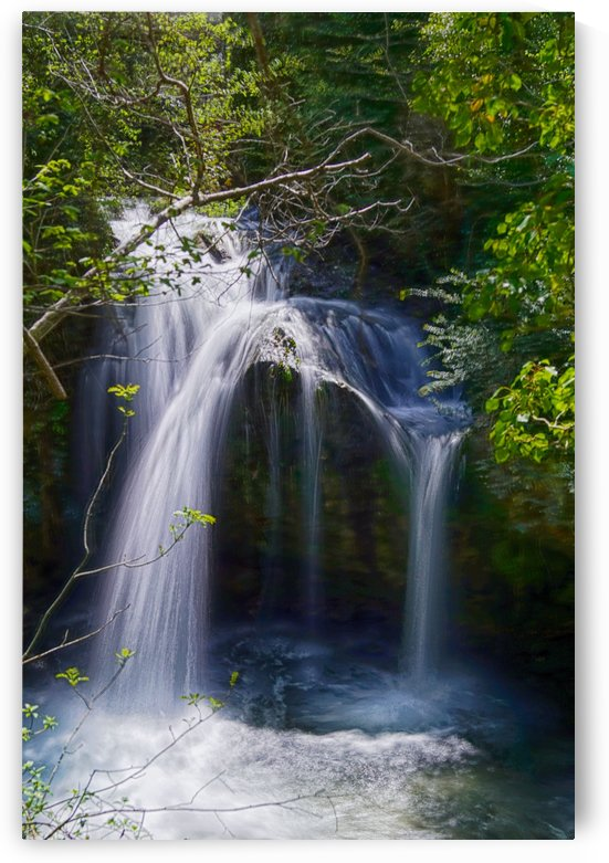 San Jaume waterfall by Yoann Stalin