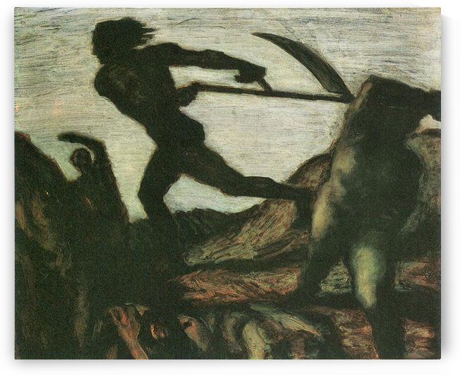 Warrior by Franz von Stuck by Franz von Stuck