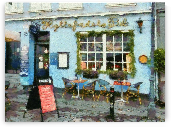 Blue Cafe Copenhagen by Dorothy Berry-Lound