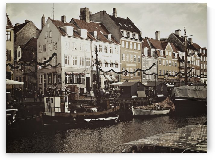 December at Nyhavn by Dorothy Berry-Lound