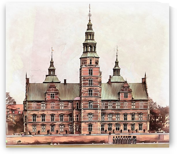 Rosenborg Castle Copenhagen by Dorothy Berry-Lound