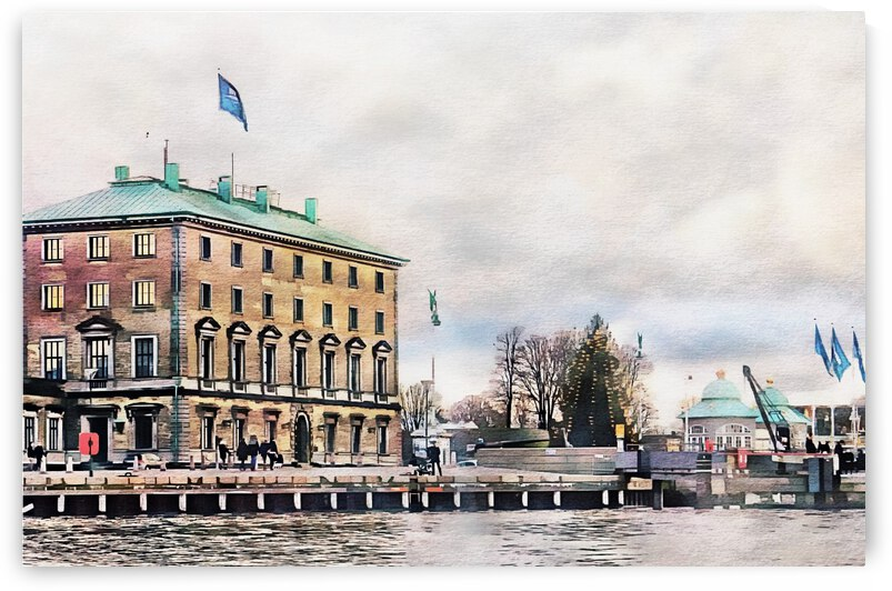 Port Authority Building Copenhagen by Dorothy Berry-Lound