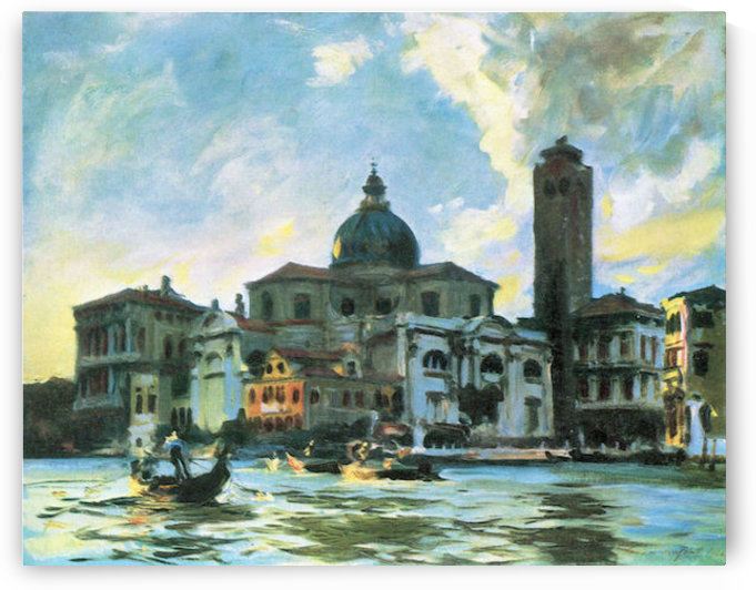 Palazzo Labia, Venice by John Singer Sargent by John Singer Sargent