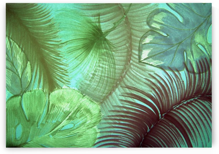 tropical triffid exotic design by jacqueline mcculloch