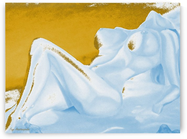 Ecstasy In Gold And Ice by Faye Anastasopoulou