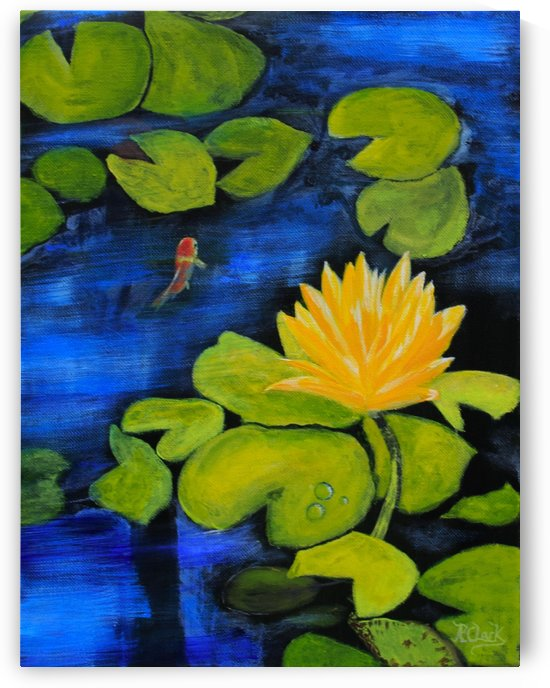 lily pond  by Robert Clark